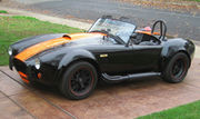1965 Shelby AC Cobra Backdraft Racing Black Out